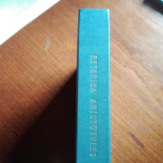 Libros de segunda mano: RETÓRICA. ARISTÓTELES. 1985. CENTRO DE ESTUDIOS CONSTITUCIONALES. ANTONIO TOVAR.. Lote 194398833