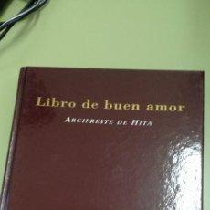 Libros de segunda mano: ARCIPRESTE DE HITA, LIBRO DE BUEN AMOR. Lote 194402606