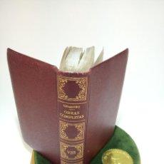Libros de segunda mano: OBRAS COMPLETAS. DON MIGUEL DE UNAMUNO. TOMO VIII. LETRAS DE AMÉRICA Y OTRAS LECTURAS. 1958. MADRID. Lote 194491253