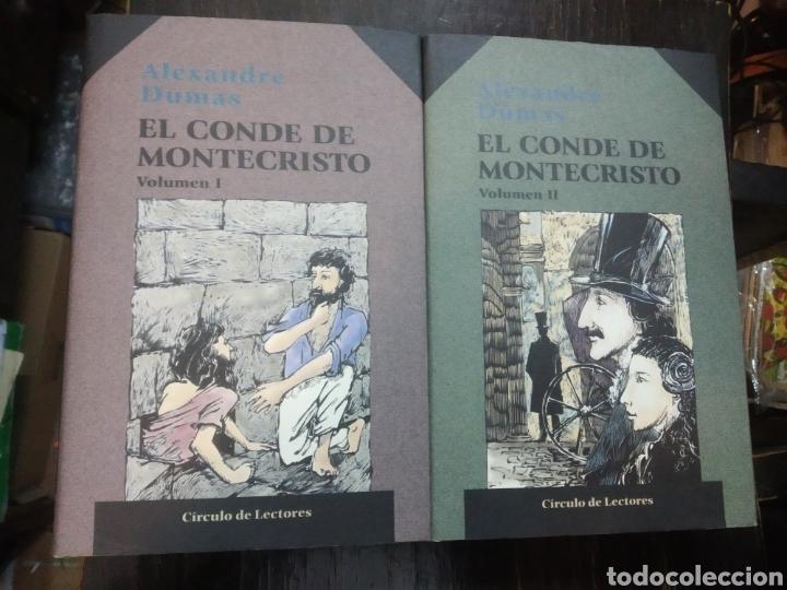EL CONDE DE MONTECRISTO. 2 VOLUMENES. DUMAS, ALEXANDRE. PUBLICADO POR ED. CÍRCULO DE LECTORES. (199 (Libros de Segunda Mano (posteriores a 1936) - Literatura - Narrativa - Clásicos)