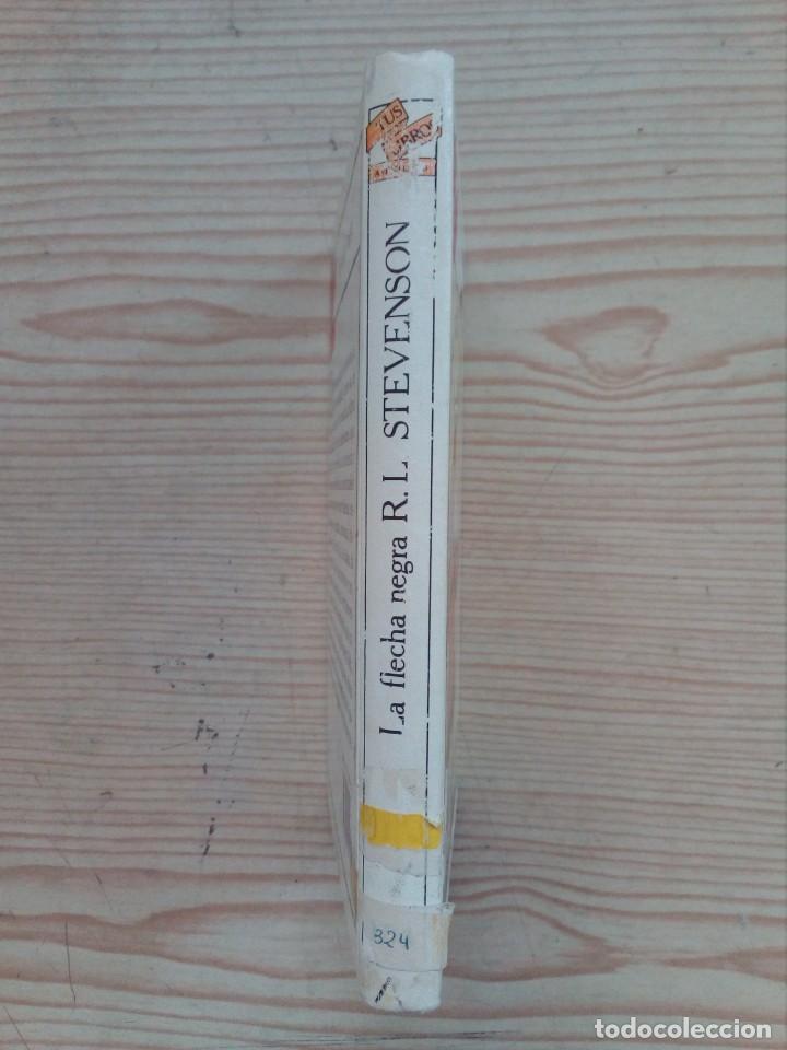 Libros de segunda mano: Tus Libros - La Flecha Negra - Anaya - 1991 - Foto 2 - 194516528