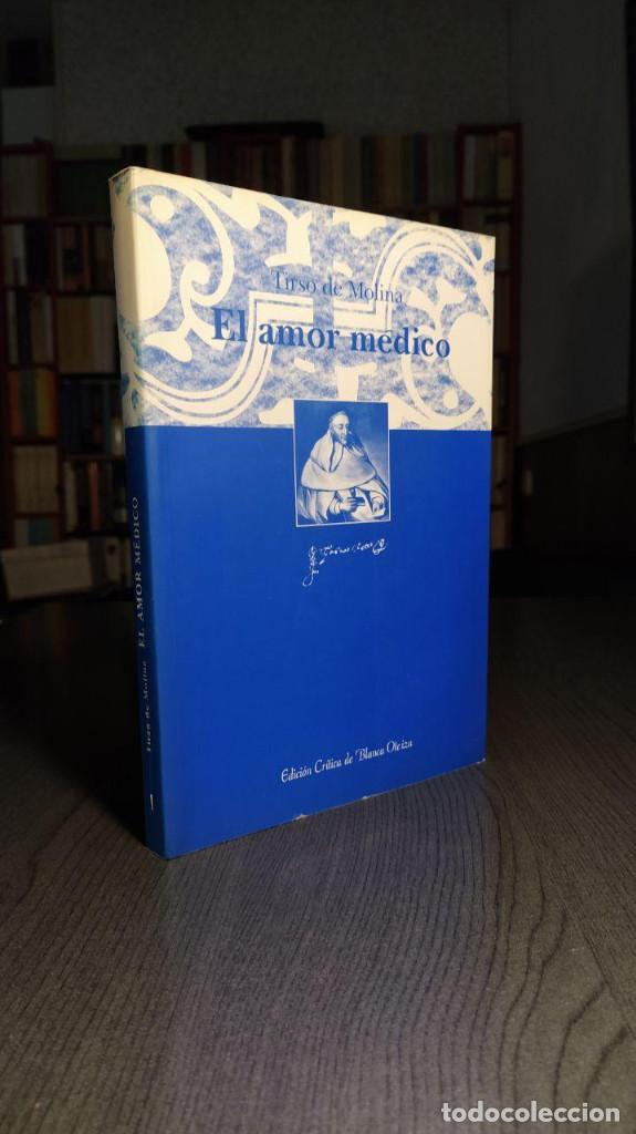 Libros de segunda mano: El amor médico Tirso de Molina Editorial: INSTº EST. TIRSIANOS, PAMPLONA Edicion critica de Blanc - Foto 5 - 194524032