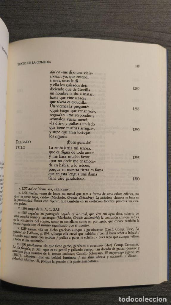 Libros de segunda mano: El amor médico Tirso de Molina Editorial: INSTº EST. TIRSIANOS, PAMPLONA Edicion critica de Blanc - Foto 6 - 194524032