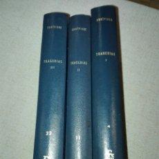 Libros de segunda mano: EURÍPIDES.TRAGEDIAS. 3 TOMOS. BIBLIOTECA CLÁSICA GREDOS. CARLOS GARCÍA GUAL.. Lote 194541460