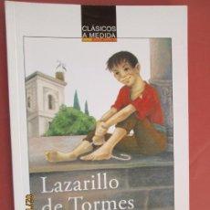 Libros de segunda mano: LAZARILLO DE TORMES , ANONIMO - ANAYA CLASICOS A MEDIDA . Lote 194608166