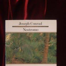 Libros de segunda mano: NOSTROMO - JOSEPH CONRAD - EDICIONS 62 1989. Lote 194612545