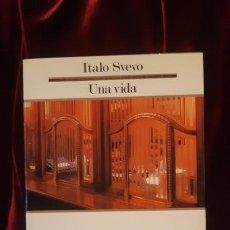 Libros de segunda mano: UNA VIDA - ITALO SVEVO - EDICIONS 62 1986. Lote 194612566