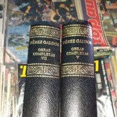 Libros de segunda mano: PÉREZ GALDÓS OBRAS COMPLETAS TOMO V - VII ED. AGUILAR. Lote 194640452