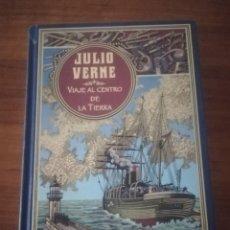 Libros de segunda mano: VIAJE AL CENTRO DE LA TIERRA. JULIO VERNE.. Lote 194645942