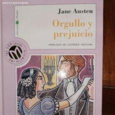Libros de segunda mano: ORGULLO Y PREJUICIO. JANE AUSTEN. Lote 194657852