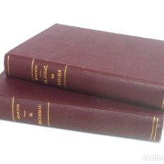 Libros de segunda mano: 1943 - P. A. DE ALARCÓN: EL ESCÁNDALO - EL FINAL DE NORMA - LOTE DE 2 LIBROS - LITERATURA ESPAÑOLA. Lote 194761115