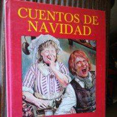 Libros de segunda mano: CUENTOS DE NAVIDAD CHARLES DICKENS VERSIÓN INTEGRA ILUSTRADO. Lote 194767178