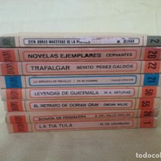 Libros de segunda mano: LOTE DE 8 LIBROS DE LA BIBLIOTECA BÁSICA SALVAT, SALVAT, 1970, MADRID. Lote 194768367