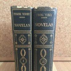 Libros de segunda mano: LOTE 2 TOMOS NOVELAS - FRANK YERBY - PLANETA - GCH1. Lote 194777480