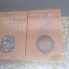 Libros de segunda mano: CLAUDIO EL DIOS Y SU ESPOSA MESALINA I Y II. Lote 194778682