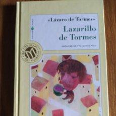Libros de segunda mano: LAZARILLO DE TORMES, DE LÁZARO DE TORMES, PRÓLOGO DE FRANCISCO RICO.. Lote 194779571