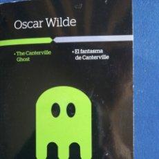 Libros de segunda mano: EL FANTASMA DE CANTERVILLE OSCAR WILDE CONTIENE CD. Lote 194789478