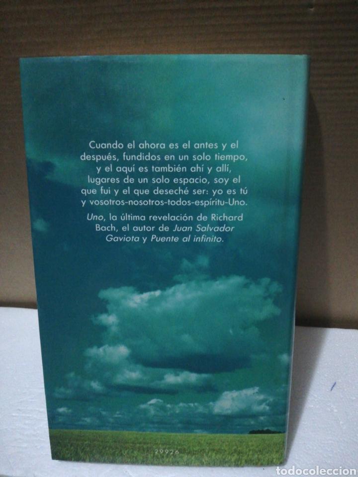Libros de segunda mano: Uno. Richard Bach .Círculo de lectores - Foto 2 - 194891446