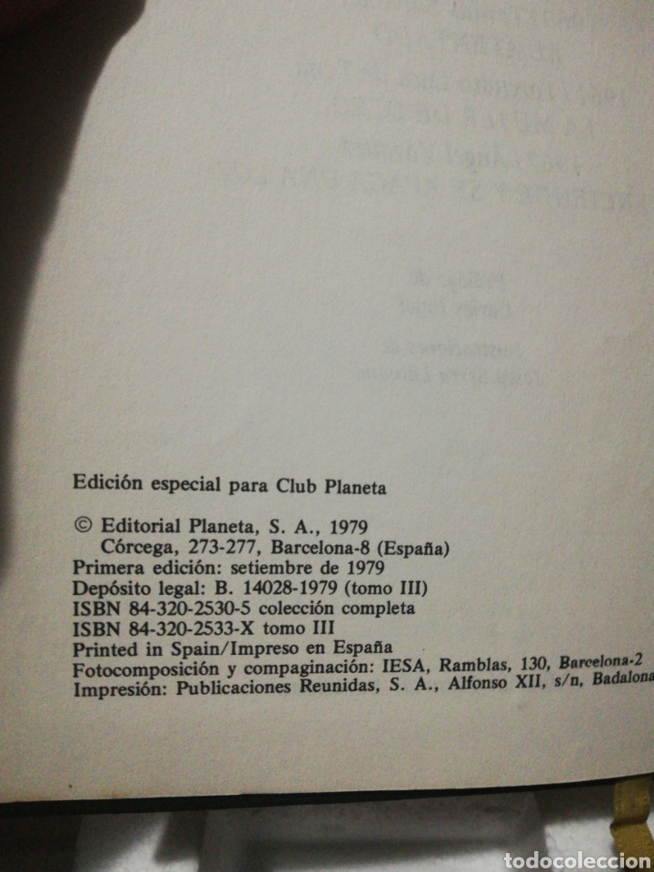 Libros de segunda mano: Premios planeta 1959-1962. La noche, el tentado, la mujer de otro - Foto 3 - 194892772
