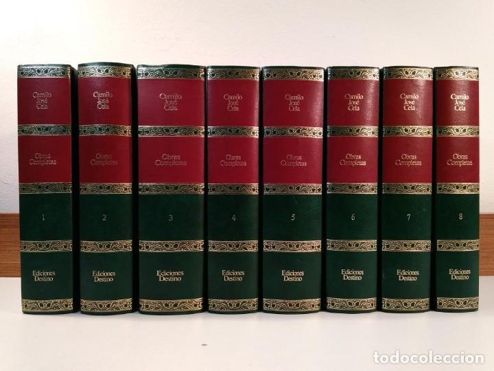 OBRAS COMPLETAS. OCHO VOLÚMENES: CELA, CAMILO JOSÉ. DESTINO Y EDITORIAL PLANETA-DE AGOSTINI. (Libros de Segunda Mano (posteriores a 1936) - Literatura - Narrativa - Clásicos)