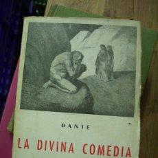 Libros de segunda mano: LA DIVINA COMEDIA, DANTE. L.12820-470. Lote 194934337