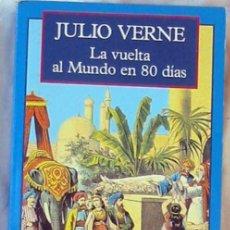Libros de segunda mano: LA VUELTA AL MUNDO EN 80 DÍAS - JULIO VERNE - ED. OLYMPIA 1995 - VER DESCRIPCIÓN. Lote 194934367