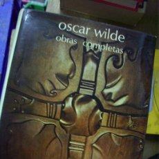 Libros de segunda mano: OBRAS COMPLETAS OSCAR WILDE. L.12820-484. Lote 194936385