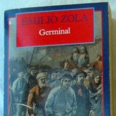 Libros de segunda mano: GERMINAL - EMILIO ZOLA - CLÁSICOS DEL MUNDO - ED. OLYMPIA 1995 - VER DESCRIPCIÓN. Lote 194953071