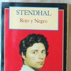 Libros de segunda mano: ROJO Y NEGRO - STENDHAL - CLÁSICOS DEL MUNDO - ED. OLYMPIA 1995 - VER DESCRIPCIÓN. Lote 194953207