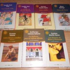 Libros de segunda mano: LOTE 7 NOVELAS LAS 100 MEJORES NOVELAS - 2 CELA, ESRNESTO SABATO, CABRERA INFANTE - ETC.... Lote 194967018