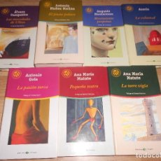 Libros de segunda mano: LOTE 7 NOVELAS LAS 100 MEJORES NOVELAS - 2 ANA MARIA MATUTE - ANTONIO GALA - AZORIN - ETC.... Lote 194967401