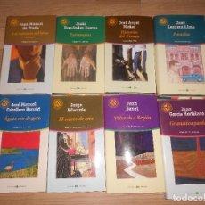 Libros de segunda mano: LOTE 8 NOVELAS LAS 100 MEJORES NOVELAS - MANUEL DE PRADA - JUAN BENET - GARCIA HORTELANO - ETC.... Lote 194968286