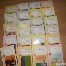 Libros de segunda mano: LOTE 23 LAS 100 JOYAS DEL MILENIO - VOLTAIRE - SABATO - UMBRAL - PIO BAROJA - CELA - DURAS - GREENE . Lote 194970452