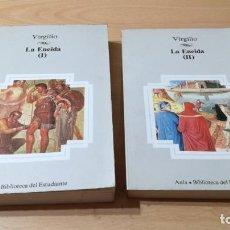 Libros de segunda mano: LA ENEIDA - TOMOS I / II - VIRGILIO - AULA BIBLIOTECA ESTUDIANTE - PLANETAK105. Lote 194980661