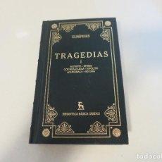 Libros de segunda mano: BIBLIOTECA BASICA GREDOS EURIPIDES TRAGEDIAS TOMO I NUMERO 6. Lote 194990048