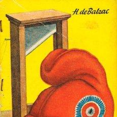 Libros de segunda mano: MINI LIBRO DE ENCICLOPEDIA PULGA Nº 92, HONORÉ DE BALZAC: UNA HISTORIA BAJO EL TERROR, 64 PÁGINAS. Lote 195007676