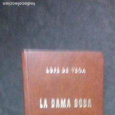 Libros de segunda mano: LOPE DE VEGA-LA DAMA BOBA-1974-EJEMPLAR NUMERADO-EDICIÓN DE 1500 EJEMPLARES. Lote 195030536