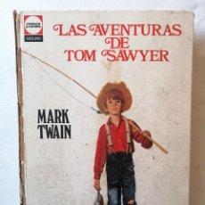 Libros de segunda mano: LIBRO LAS AVENTURAS DE TOM SAWYER POR MARK TWAIN CLASICOS JUVENILES EDITORIAL MOLINO BARCELONA 1969. Lote 195049492