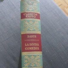 Libros de segunda mano: CLÁSICOS EXITO N°6 . LA DIVINA COMEDIA. DANTE .. Lote 195129312
