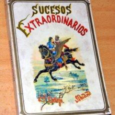 Libros de segunda mano: SUCESOS EXTRAORDINARIOS - DE SATURNINO CALLEJA - EDITORIAL JOSÉ J. DE OLAÑETA - AÑO 1985. Lote 195129863