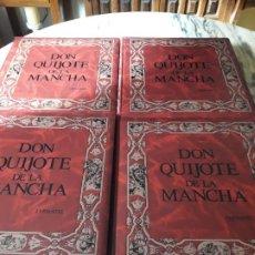 Libros de segunda mano: DON QUIJOTE DE LA MANCHA. LECTURA DE CAMILO JOSÉ CELA. ILUSTRACIONES DE EBERHARD SCHLOTTER. Lote 195137897