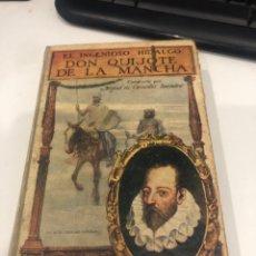 Libros de segunda mano: DON QUIJOTE DE LA MANCHA. Lote 195143646