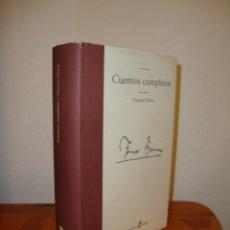 Libros de segunda mano: CUENTOS COMPLETOS - THOMAS MANN - EDHASA - MUY BUEN ESTADO. Lote 195145047