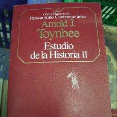 Libros de segunda mano: ESTUDIO DE LA HISTORIA II, ARNOLD J. TOYNBEE. L.17025-179. Lote 195186440