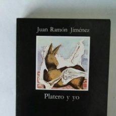 Libros de segunda mano: PLATERO Y YO JUAN RAMÓN JIMÉNEZ. Lote 195341367