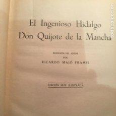 Libros de segunda mano: CERVANTES DON QUIJOTE DE LA MANCHA EDICIONES RAMOS. Lote 195345003
