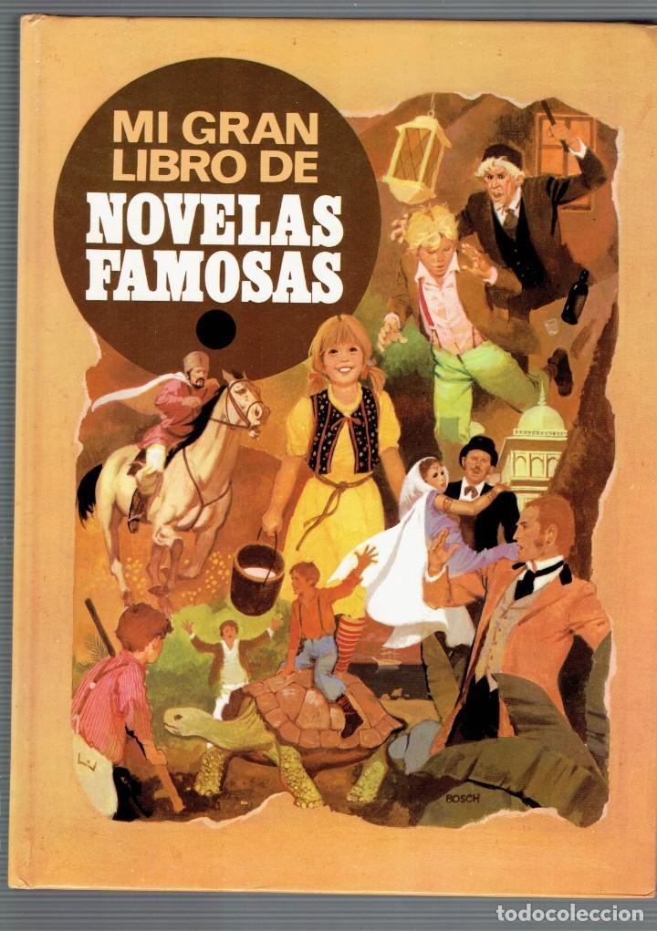MI GRAN LIBRO DE NOVELAS FAMOSAS BRUGUERA GRANDES AVENTURAS ILUSTRADAS 1 EDICION 1984 (Libros de Segunda Mano (posteriores a 1936) - Literatura - Narrativa - Clásicos)