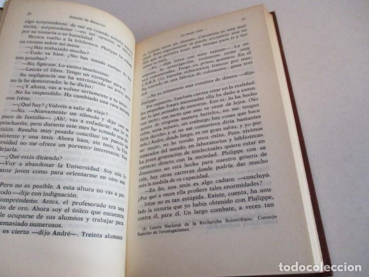 Libros de segunda mano: SIMONE DE BEAUVOIR. LA MUJER ROTA. - Foto 2 - 195369282