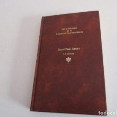 Libros de segunda mano: JEAN -PAUL - SARTRE. LA NÁUSEA. Lote 195369418