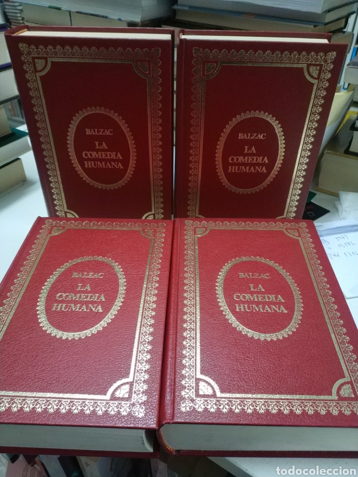 Libros de segunda mano: La comedia humana. Balzac. 4 volumenes. Edaf, 1972 - Foto 2 - 195371606